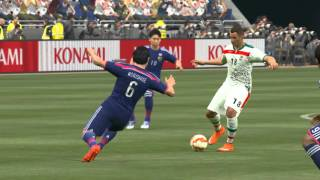 Japan vs Iran AFC Asian Cup group stage PES 2016 PC HD