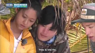 Kim Byung -man cut up the tuna to be sushi tuna | Law OF The JUNGLE int Tonga Ep.210