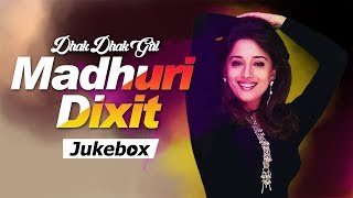 MADHURI DIXIT Songs | Popular Hindi Songs HD VIDEO JUKEBOX | Dhak Dhak Girl MADHURI DIXIT Hits