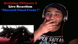 Hellsing Ultimate 8 Live Reaction