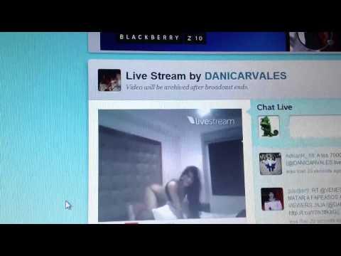 Twitcam de Diosa Canales en la Madrugada del Domingo