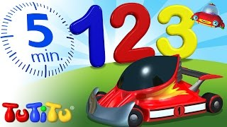 TuTiTu Preschool | 123 Race Cars | Learning Numbers | Learn to Count to 10