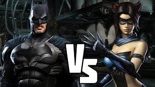 Injustice versus! Batman vs Catwoman! Road to Injustice 2