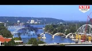 Epic Fail, Detonator blast से भी नहीं गिरा 93 साल पुराना Arkansas Bridge