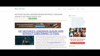 BEYONCE LEMONADE DOWNLOAD ALBUM AND THE MEANING BEHIND IT ALL