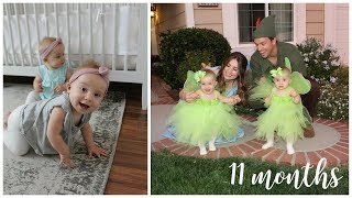 Twins 11 Month Update: June and Violet | Kendra Atkins