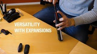 Handheld NAUTIZ X8: Versatility with expansions