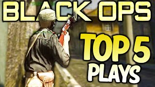 Black Ops  - Top 5 XBOX ONE PLAYS - BO Community Top Five #32