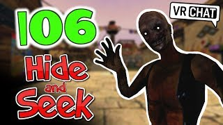 [VRChat] Hide and Seek with old man SCP 106!