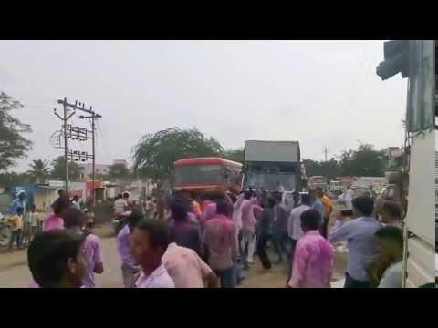 Shantabaii (Ganesh Festival Famous song) Morya dj Roadshow at Bhigwan