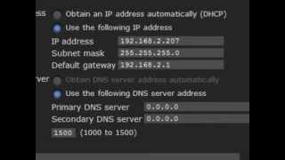 Setting IP Addresses on IP Cameras