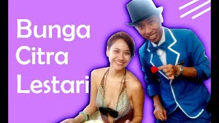 BUNGA CITRA LESTARI ikutan SULAP!! - Magician Bali live record pakai HP