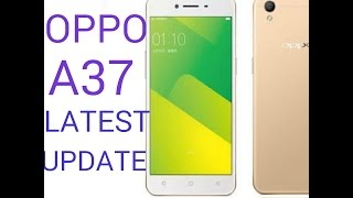 OPPO A37 UPDATE |100 % work Guarantee | OPPO PHONE SERVICE AND CARE |