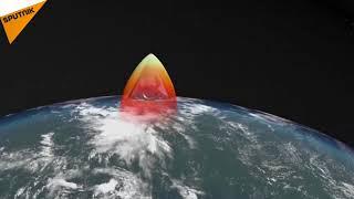 """الدفاع الروسية: بدء الإنتاج التسلسلي لصواريخ """"أفانغارد"""" الفرط صوتية"""