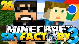 Minecraft: SkyFactory 3 - GOOGLE HEADQUARTERS!! [26]
