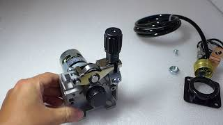 DC24 0.8-1.0mm MIG MAG Welding Machine Welder Wire Feed Motor MIG-160 Weld Parts
