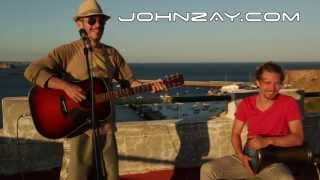 Pearl Jam - Alive (Acoustic Cover by John Zay @ the End Of The World - Sagres, Portugal)