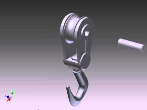 Indian Hill High School. Crank Hook Animation. Inventor 2012.