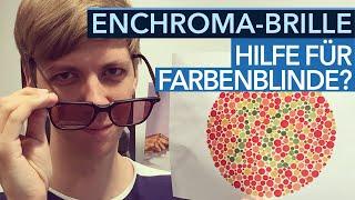 Enchroma-Brille im Test - Hilfe für farbenblinde Gamer?