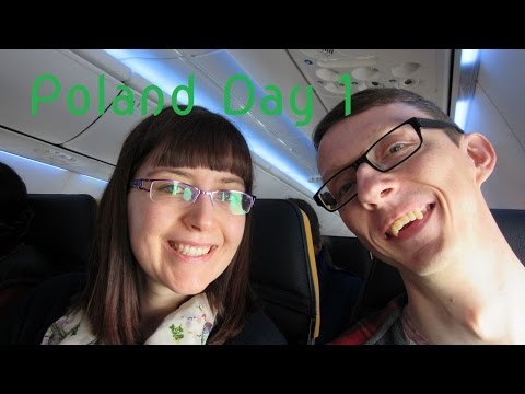 Dino & Fledge's Holiday in Poland - Day 1