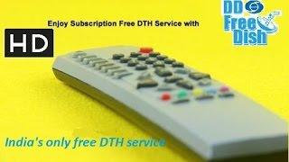 DD Free dish channels free on hd set top box hd