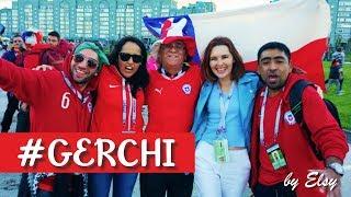CHILE - ALEMANIA 2017 l COPA CONFEDERACIONES l Los chilenos en Kazan! El encuentro