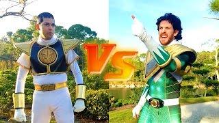 FAN FILM: Green Ranger vs. White Ranger