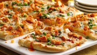 Chicken Bread Pizza Recipe | Kids Recipe For Lunch | Easy To Make Pizza Recipe