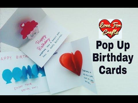 Xxx Mp4 Easy Birthday Pop Up Cards For Beginners DIY Pop Up Card 3gp Sex