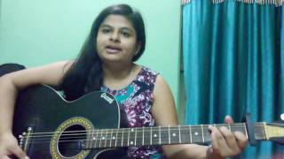 Main Phir Bhi Tumko Chahunga~ Female version guitar cover| Half Girlfriend | Arijit Singh