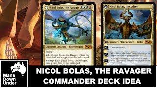 MTG Commander Deck Idea - Nicol Bolas, the Ravager (Bolas Tribal) M19