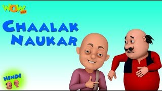 Chalaak Naukar - Motu Patlu in Hindi - 3D Animation Cartoon - As on Nickelodeon