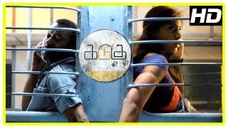 Kadugu Movie Scenes | Radhika reveals her past | Bharath Seeni try to impress Subiksha | Bharath