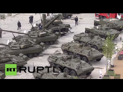 Russia: Check out the modern military