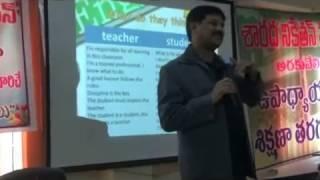 Teacher Vs Student Thinking styles-Psychology in Education-Telugu