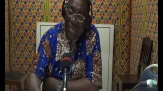 "Bruno Fidelis MENSAH KOUTO dans son émission ""Nya de wo va di na"""