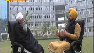 Eknoor with Dr Devinder Singh Ji of Akal University