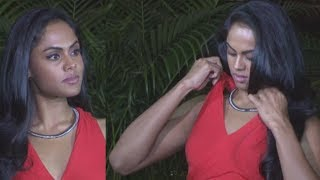 Beautiful Karthika Nair Showing Hot Assets at Launch Party of Star Plus New Serial