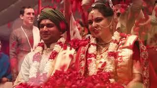 Vedic marriage at ISKCON Shridham Mayapur : Vishaka and Bhaktivinod