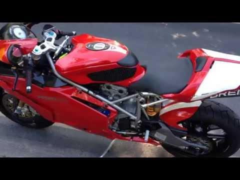 Ducati 999S demo ride