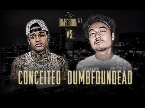 KOTD Rap Battle Conceited vs Dumbfoundead Blackout5