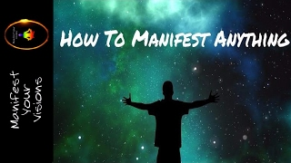 How To Manifest Anything - Very Powerful Tool (Law Of Attraction)