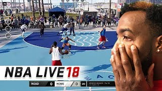 THE TRUTH ABOUT NBA LIVE 18!