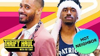 What to Wear to Hit on Your Neighbor ft. Jak Knight and Langston Kerman | Thrift Haul