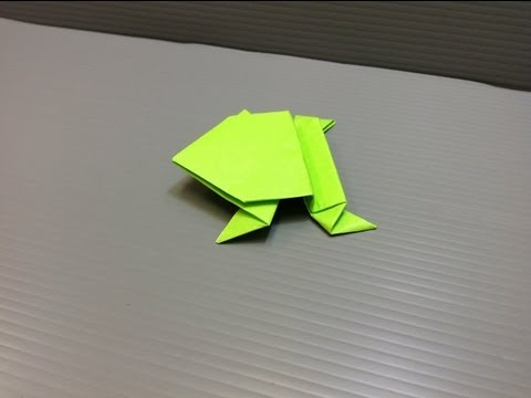 Daily Origami: 003 - Jumping Frog 01