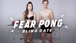 Blind Dates Play Fear Pong (Analisa & Aaron) | Fear Pong | Cut