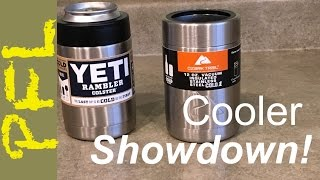 Yeti Colster vs. Ozark Trail Can Cooler: You Won