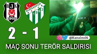 Beşiktaş - Bursaspor Deplasman ve maç sonu