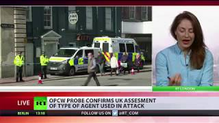 OPCW confirms UK findings over substance used in Salisbury poisoning