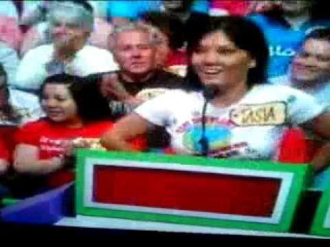 Pornstar Claire Dames on Price Is Right